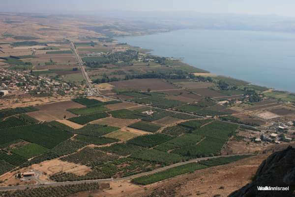 One day guided group hike - Mount Arbel - Israel hiking trip